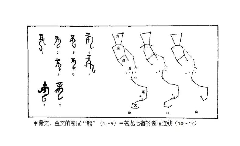 商周时的龙字皆已符合东方苍龙七宿连线.jpg